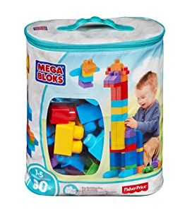 Best Mega Bloks 80-Piece Big Building Bag, Classic For Kids