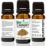 Biofinest Caraway Essential Oil - 100% Pure Undiluted, Premium Organic, Therapeutic Grade - Best for Aromatherapy, antioxidant, boost immune System, soothe headache & fatigue - FREE E-Book (10ml)