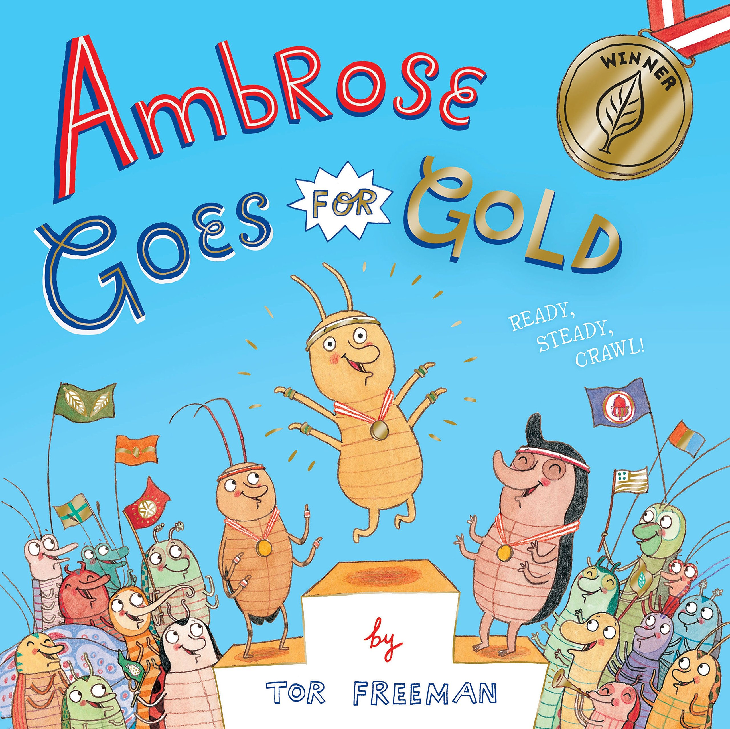Ambrose Goes for Gold ebook