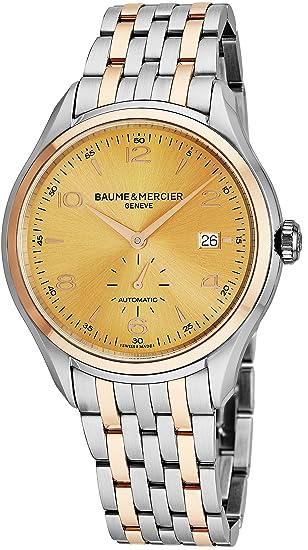 Baume & Mercier Clifton Reloj de Hombre automático 41mm Correa de Acero 10352
