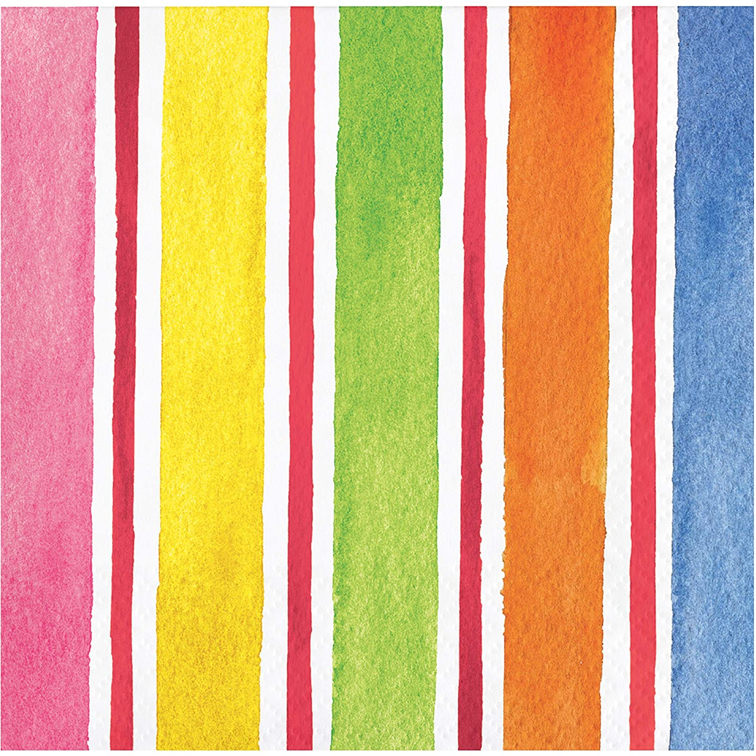 Creative Converting 335350 Breezy Beach Beverage Napkins 5 Multi-colored