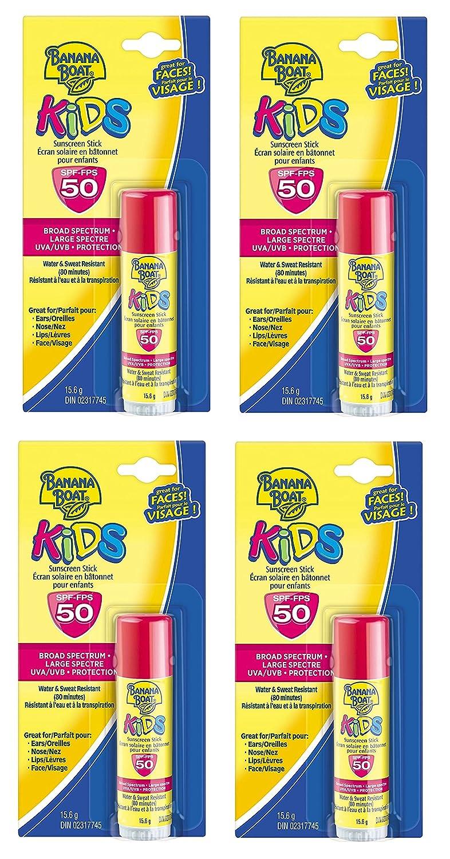 Banana Boat Kids Uva Uvb Protection Sunscreen Stick For Faces Broad Sunblock Spf50 60ml Spectrum Spf 50