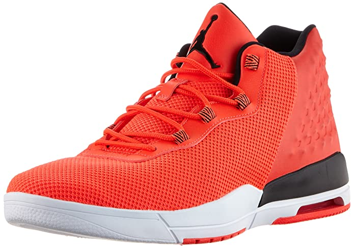 Amazon.com | Nike Air Jordan Academy Mens Hi Top Trainers 844515 Basketball Shoes (12, Infrared 23/White/Black) | Basketball