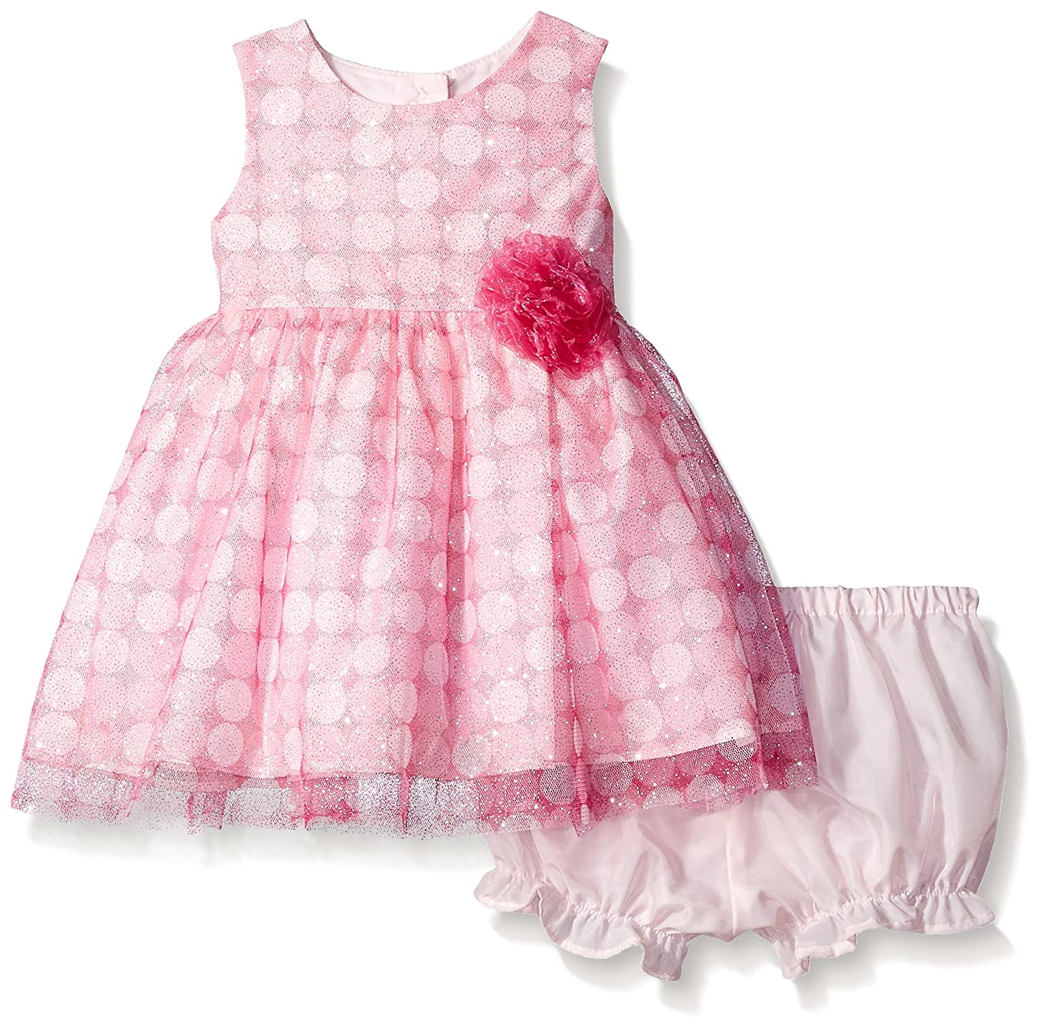 Amazon Marmellata Baby Girls Sparkle Party Dress with Lace
