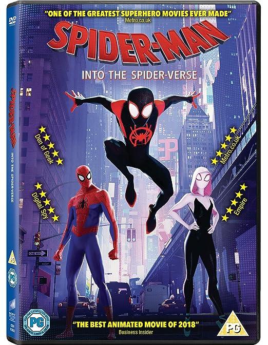 bf92d32db Spider-man Into The Spider-Verse  DVD   2018   Amazon.co.uk  Shameik Moore