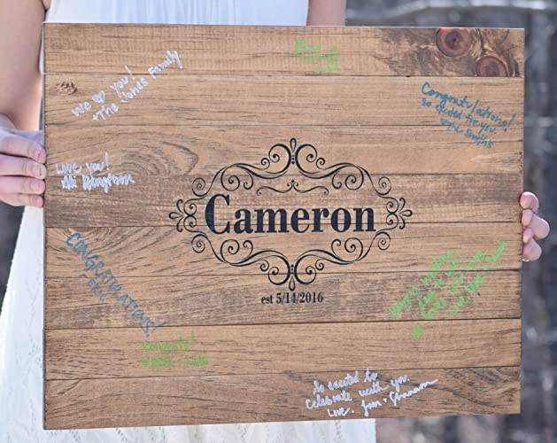 Amazon.com: Guest Book - Guest Book Alternative - Guest Book Sign ...