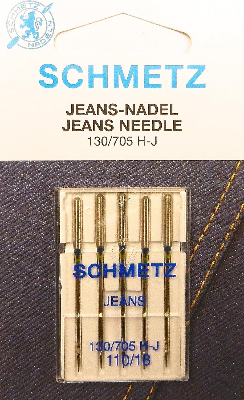 Schetz 130/705 H-J - Agujas para máquinas de coser (pistón plano ...