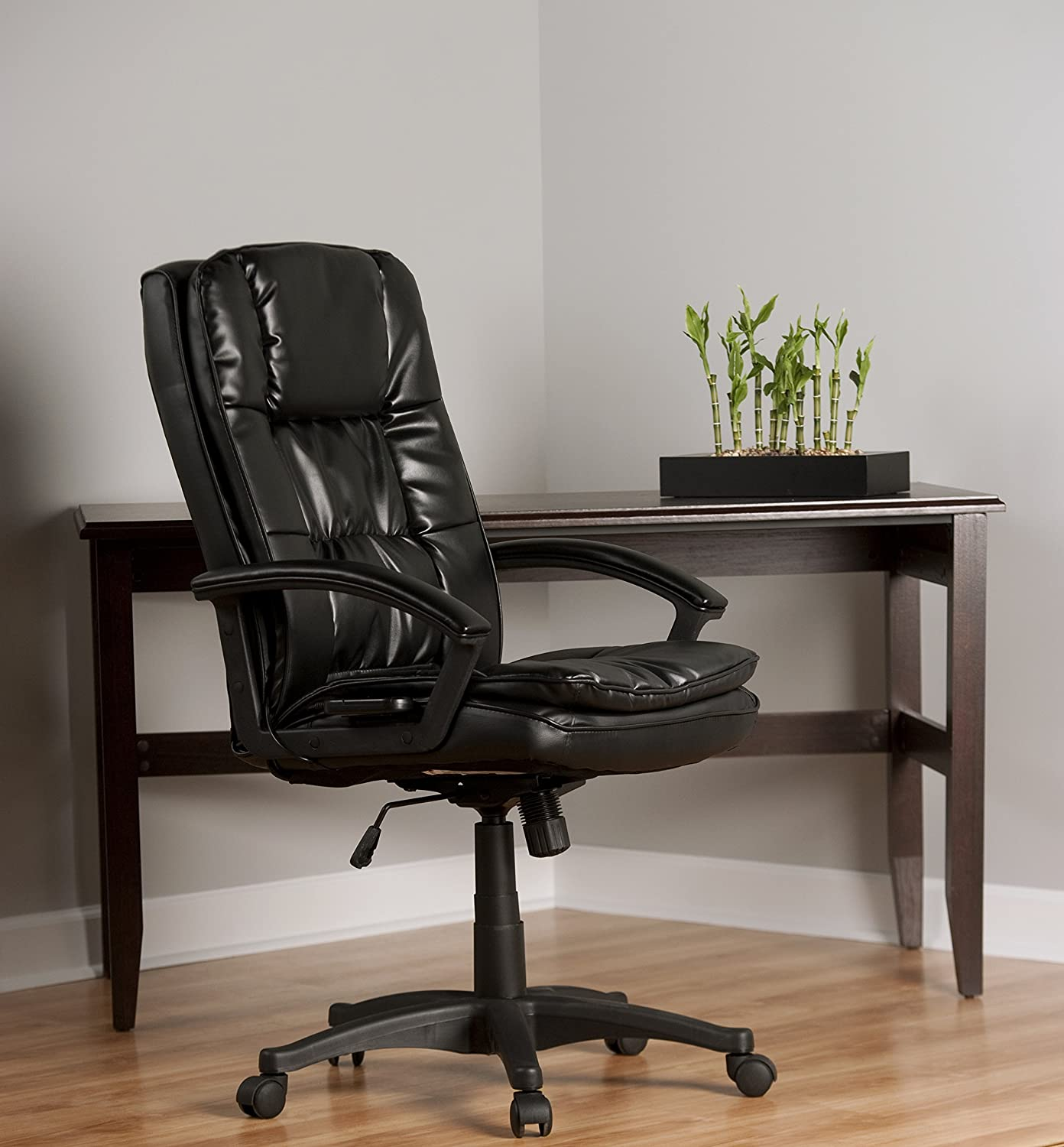 most comfortable computer chair. Amazon.com: Comfort Products 60-6810 Leather Executive Chair With 5-Motor Massage, Black: Health \u0026 Personal Care Most Comfortable Computer M