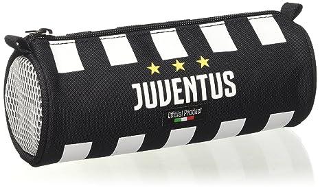 Estuche Escolar - Juventus - Blanco et Negro: Amazon.es ...