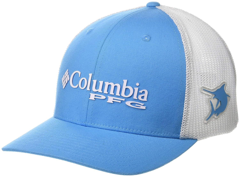 Columbia PFG Mesh Ball Cap Riptide Small//Medium