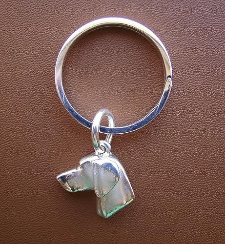 Weimeraner Key Ring