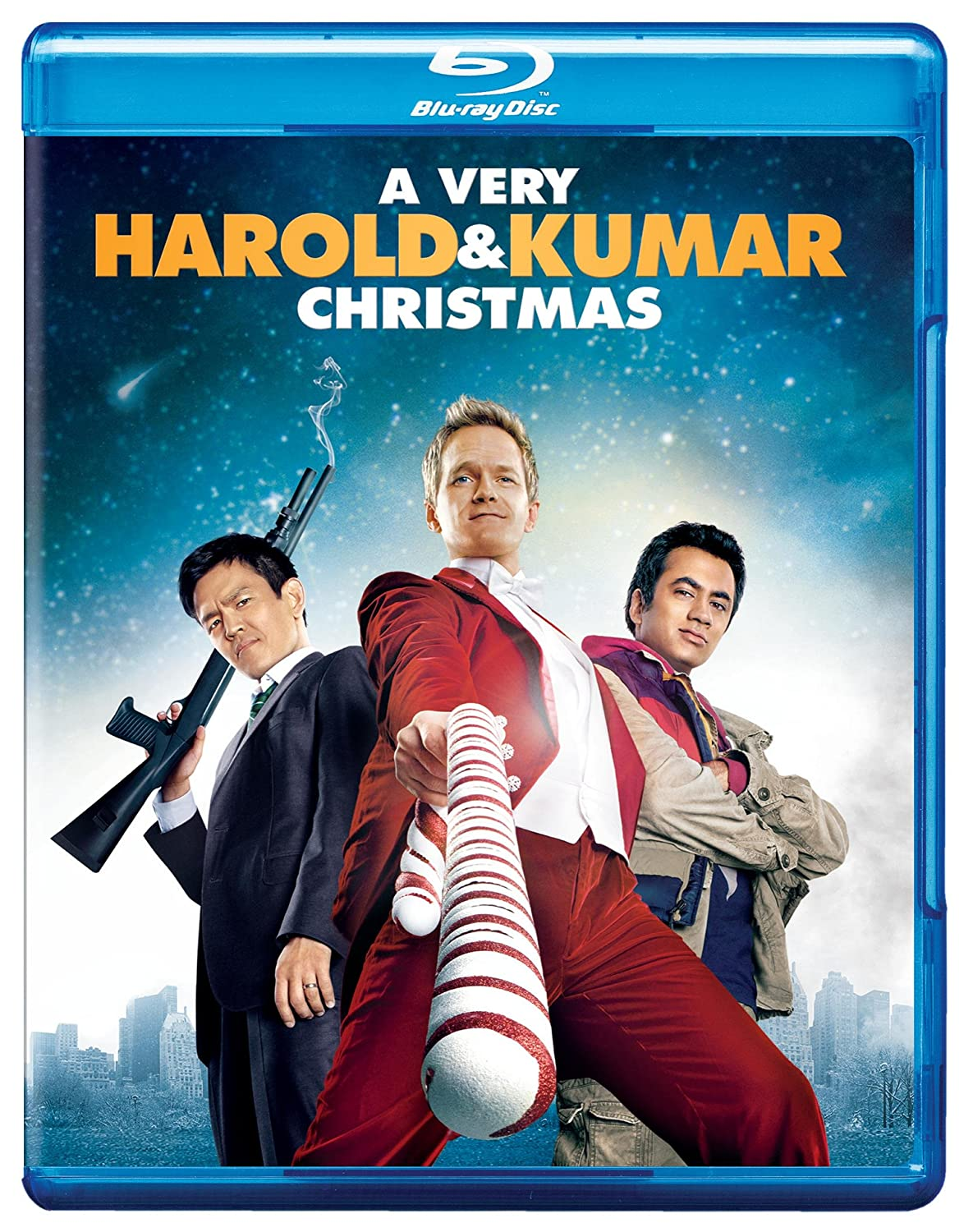 Amazon.com: A Very Harold & Kumar Christmas [Blu-ray]: John Cho ...