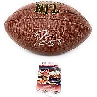 $109 » Darius Leonard Indianapolis Colts Signed Autograph NFL Logo Football JSA Certified