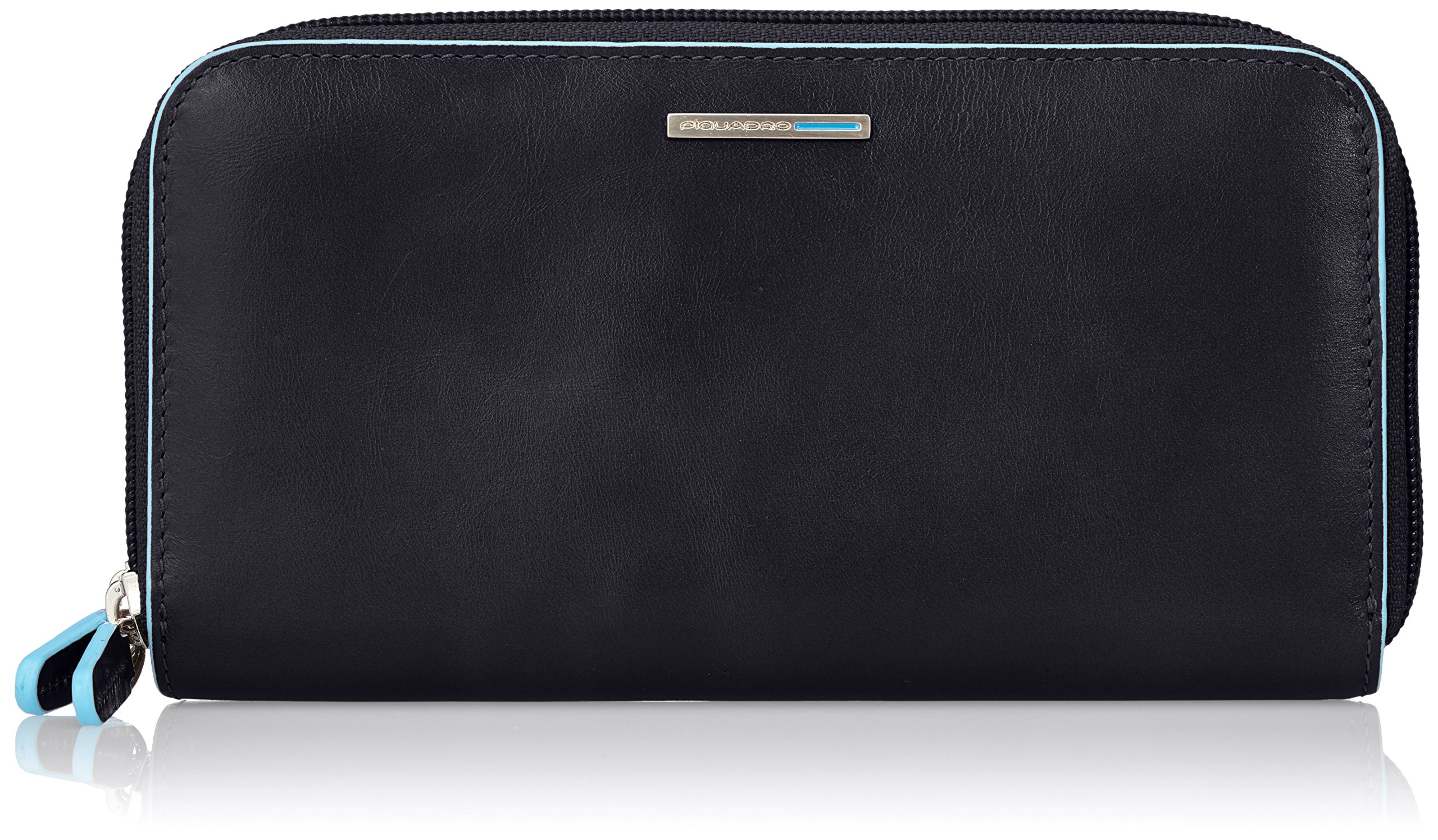 Piquadro Women's Wallet with iPhone 6 47 Inch Compartment, Black, One Size by Piquadro