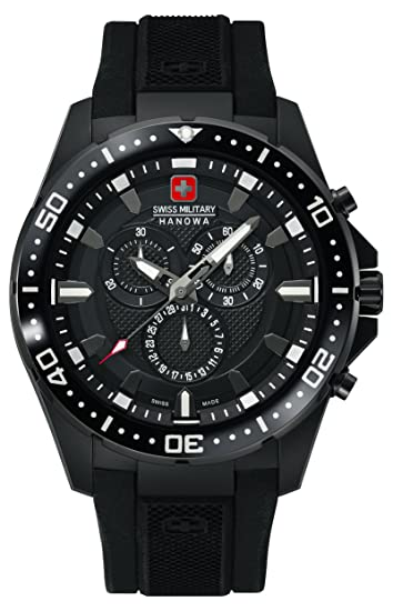 babe7f2322f4 Swiss Military Hanowa 06-4212.27.007.07 - Reloj analógico de Cuarzo para  Hombre