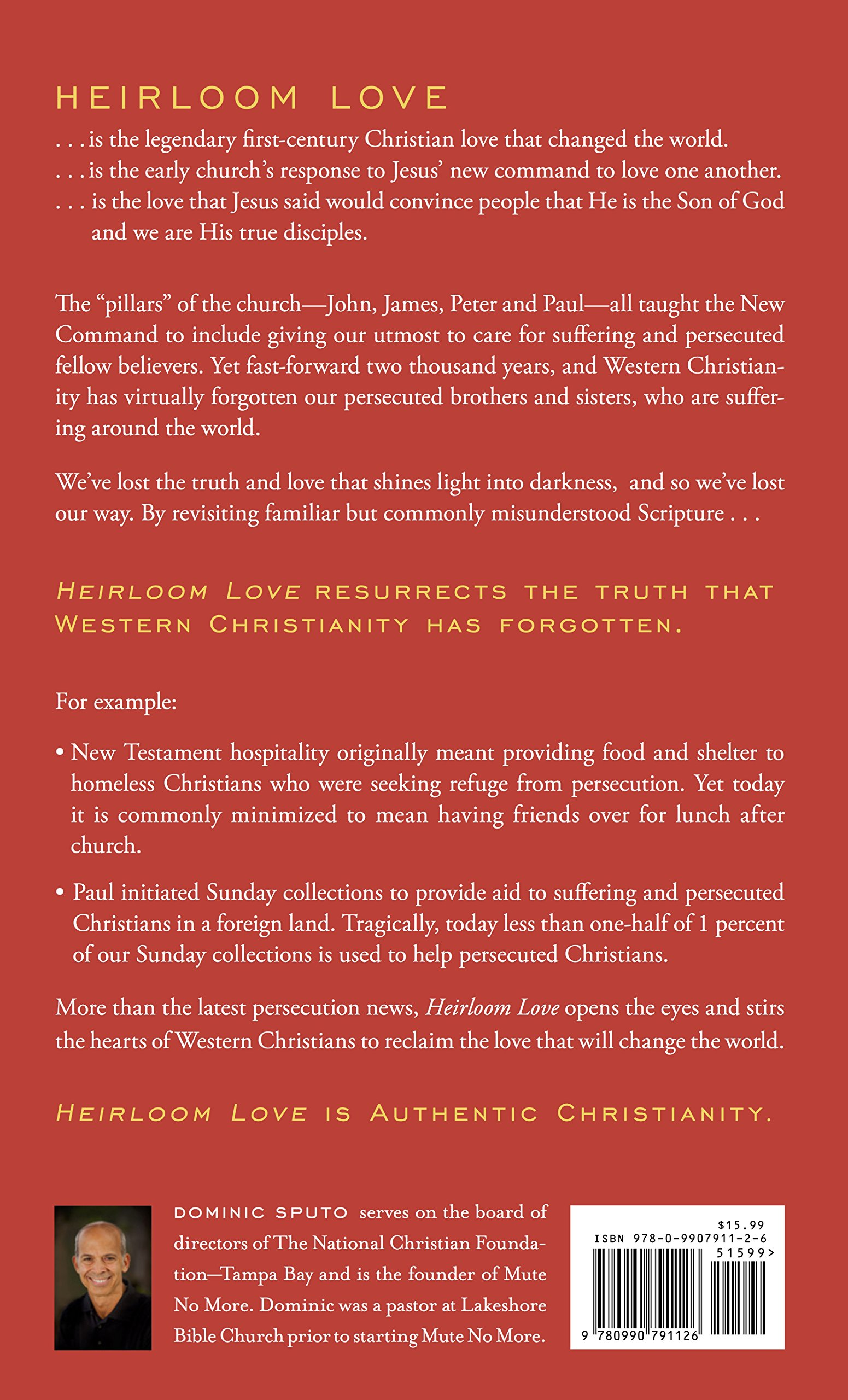 Heirloom Love: Authentic Christianity for this Age of