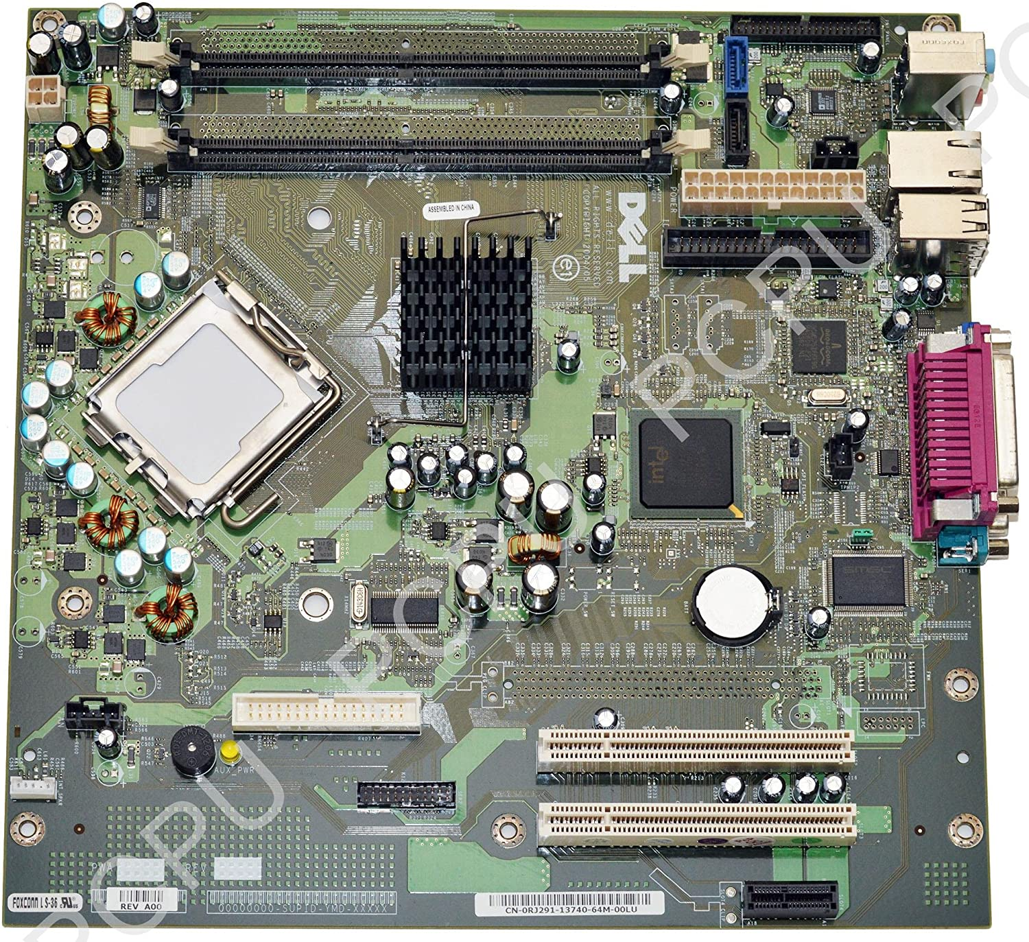 RJ291 Dell Optiplex GX520 Desktop Intel Motherboard RJ291 0RJ291