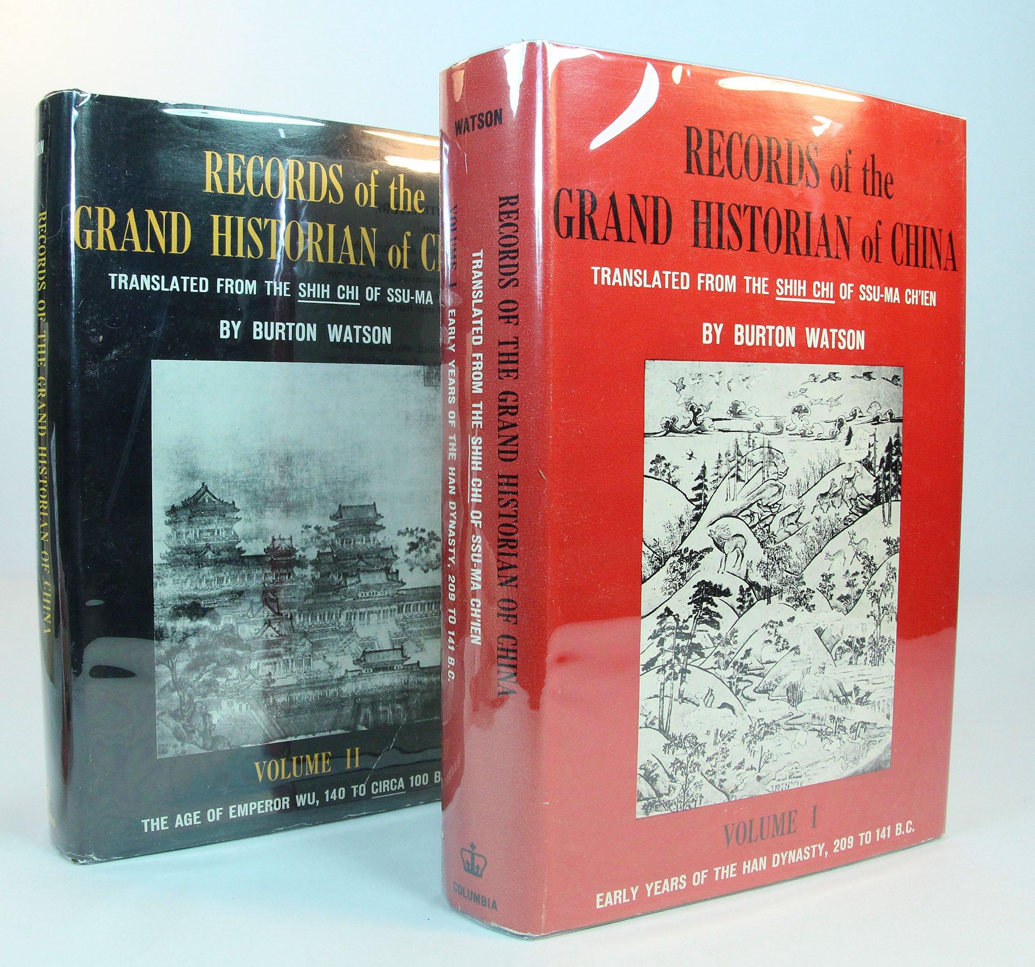 ssu ma chien grand historian of china