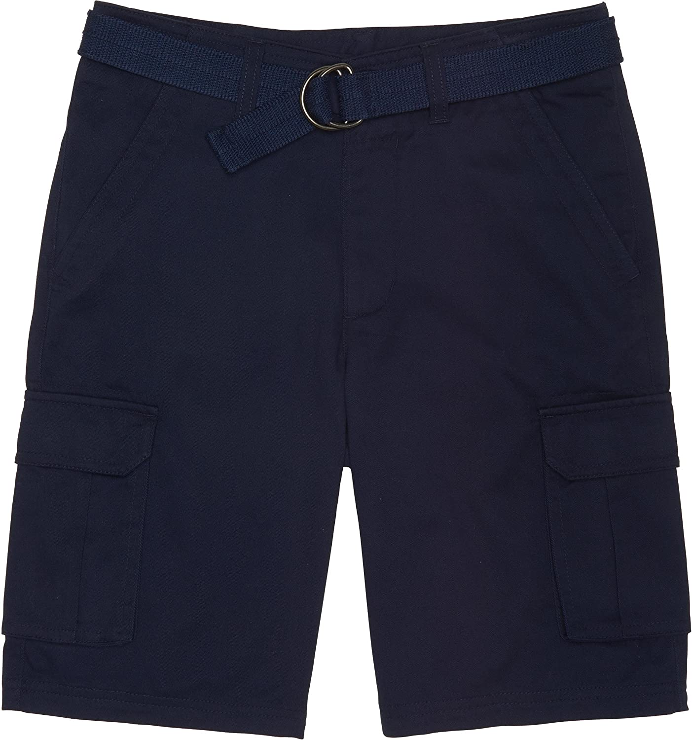 French Toast School Uniform Boys Belted Cargo Shorts H9243