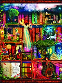 product image for SUNSOUT INC Treasure Hunt Bookshelf 1000 pc Jigsaw Puzzle