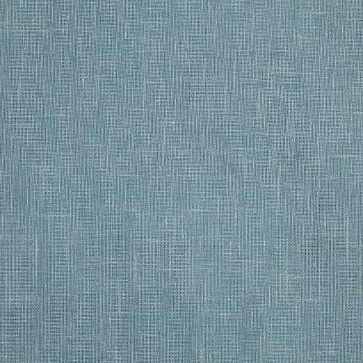 HOGARYS Telas por Metro Algodon y poliéster Liso Tintado para Cortinas, decoración, Costura y Manualidades - Sicilia Bicolor Turquesa.1L1: Amazon.es: Hogar