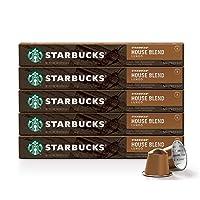 Deals on Starbucks by Nespresso House Blend Medium Roast 50-Count
