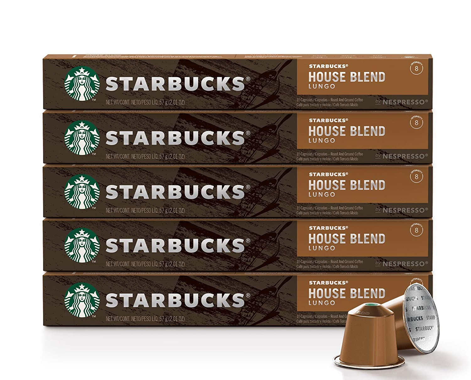 Starbucks by Nespresso: 50 Count House Blend! As low as .18 (REG: .84) at Amazon!