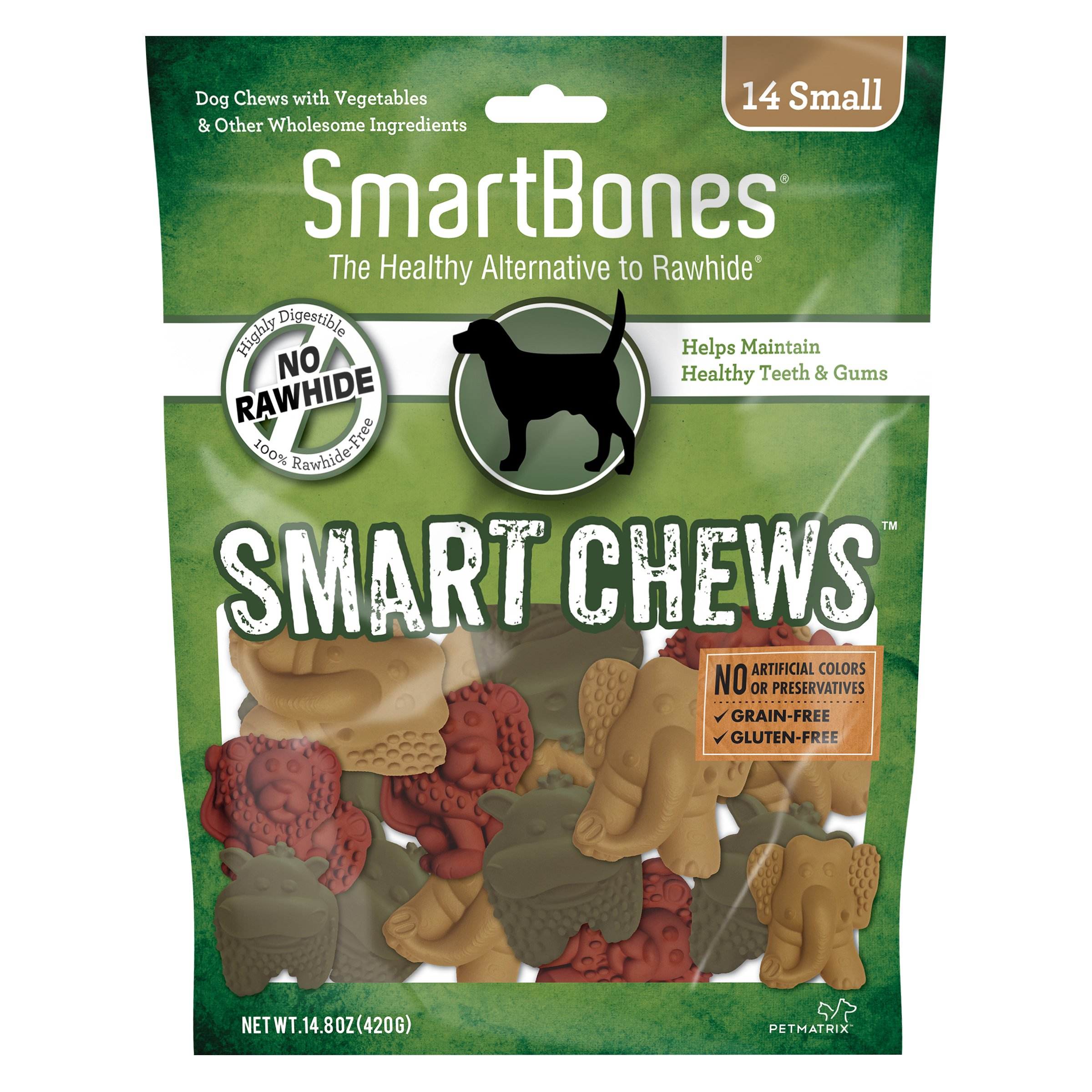 SmartBones Smart Chews Safari Chews for Dogs, Rawhide-Free