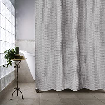 Amazon.com: Escondido 72-Inch x 84-Inch Shower Curtain (Silver ...