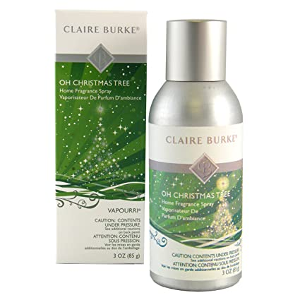 Amazon.com: Claire Burke Oh Christmas Tree Home Fragrance Spray ...