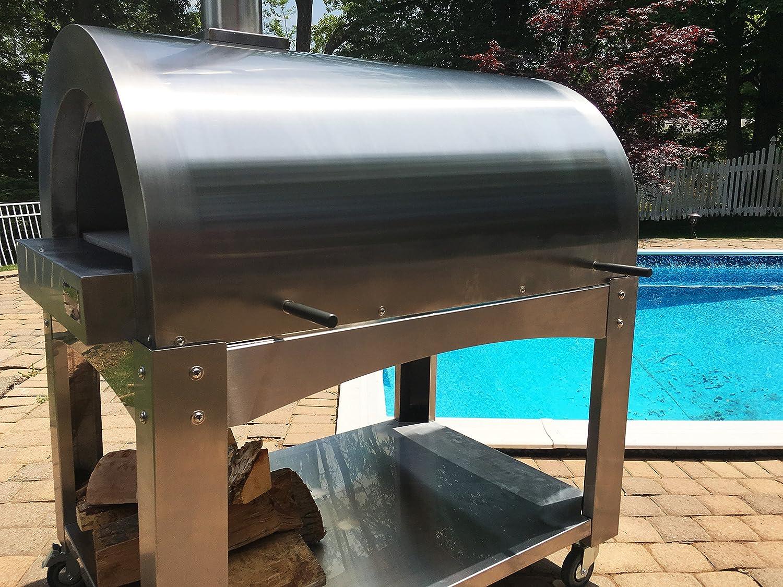 Amazon.com : ilFornino Professional Series Wood Fired Pizza Oven ...