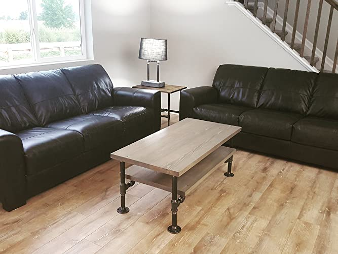 Industrial Pipe Coffee Table, Ancon Edition