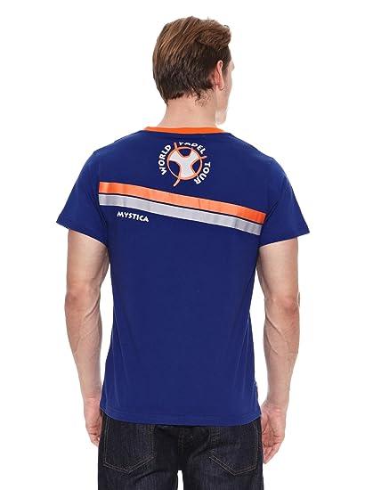 Mystica Camiseta WPT Makaha Azul/Naranja 2XL: Amazon.es ...