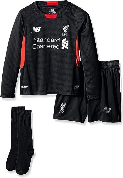 Amazon.com: Liverpool Kids (Boys Youth) Home Portero Kit ...