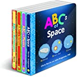 Baby University ABC's Board Book Set: Four Alphabet Board Books for Toddlers (Baby University Board Book Sets)