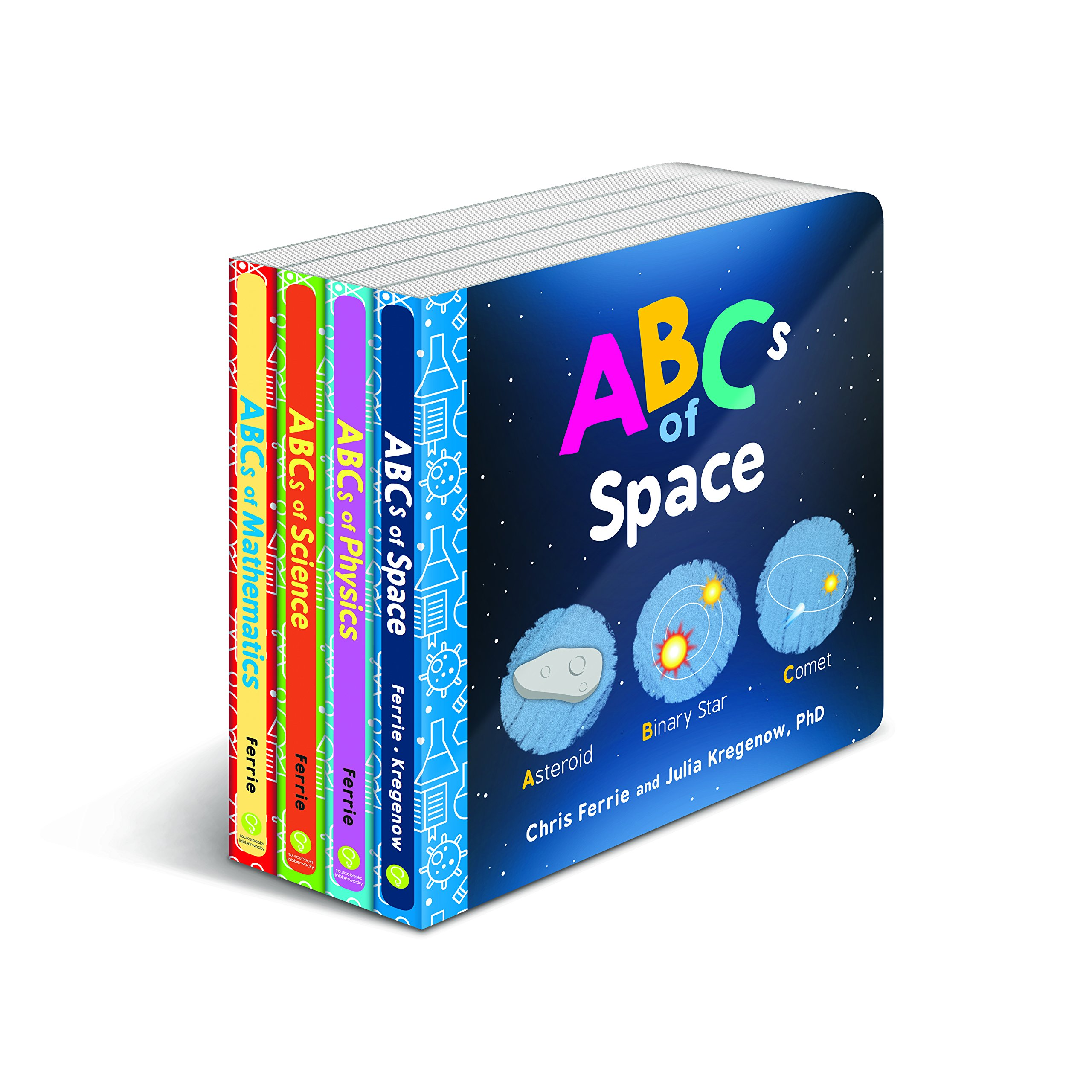Baby University ABC's Board Book Set: Four Alphabet Board Books for Toddlers (Baby University Board Book Sets) by Sourcebooks Explore