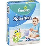 Pampers 帮宝适 splashers 一次性游泳尿裤 NEW VERSION 13-24 lb, Size S - 40 Count NEW VERSION 13-24 lb, Size S - 40 Count 40