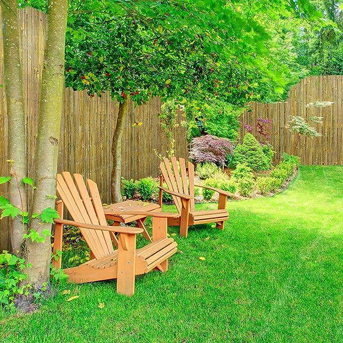 casa pura - Cañas de bambú para Exterior o Interior - Caña de bambú Natural para Valla, Separador - Rollo de Varios tamaños: Amazon.es: Jardín