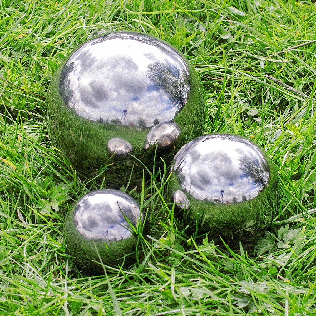 di/ámetro 40 cm Altura 37 cm hydroflora 63003420 Esfera Decorativa Nicoli EOS Antracita Mate