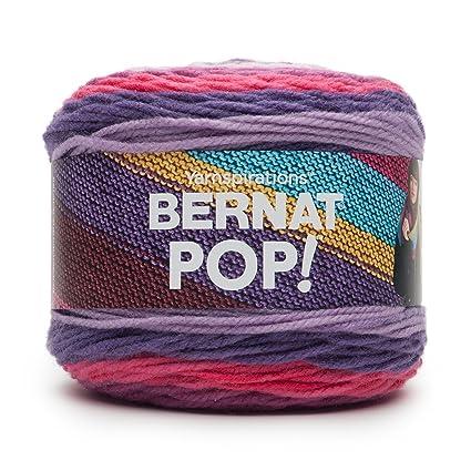 Amazon Bernat POP Yarn 40 Medium Gauge 40% Acrylic 40oz Custom Bernat Pop Yarn Patterns