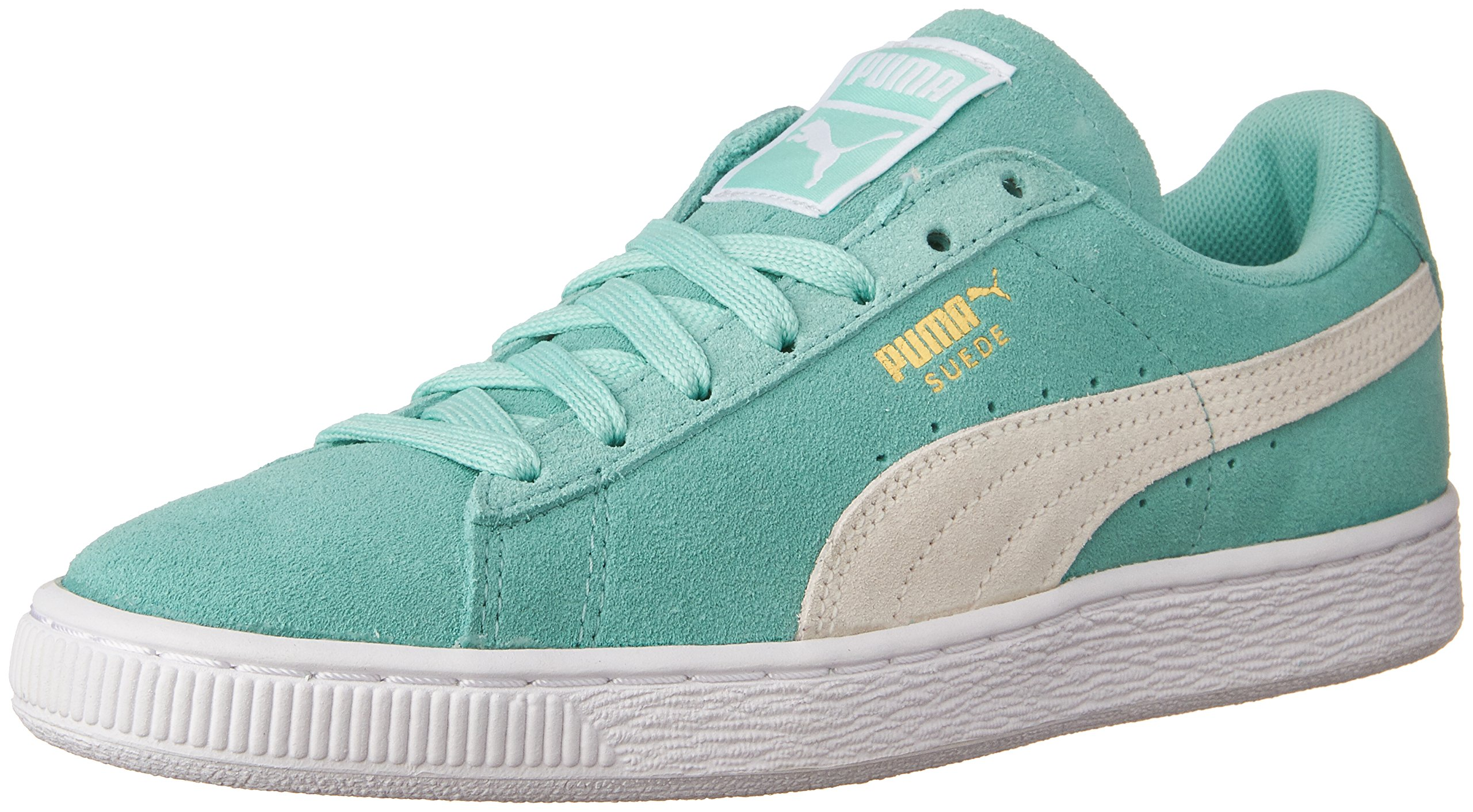 PUMA Women's Suede Classic WN's Classic Style Sneaker,Holiday/White,7 B US