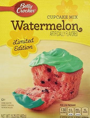 Betty Crocker Limited Edition Watermelon Cupcake Mix 15 25 Ounces