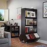 Furniture of America Yodell Contemporary Espresso Bookcase/ Room Divider/ Display Cabinet