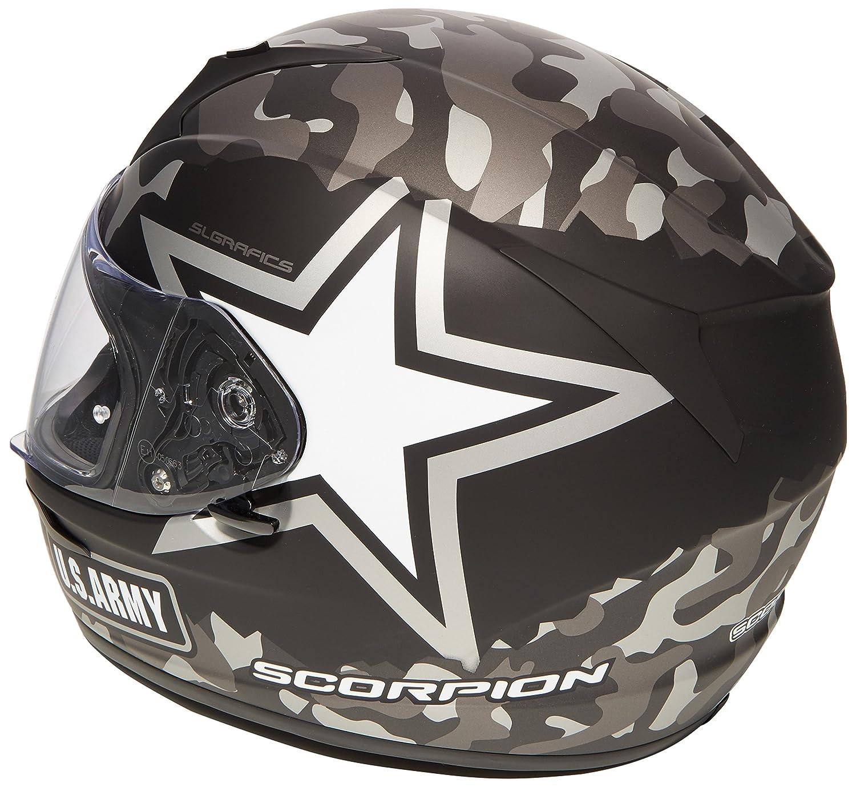 Scorpion Casco Moto exo-390/Army talla M multicolor