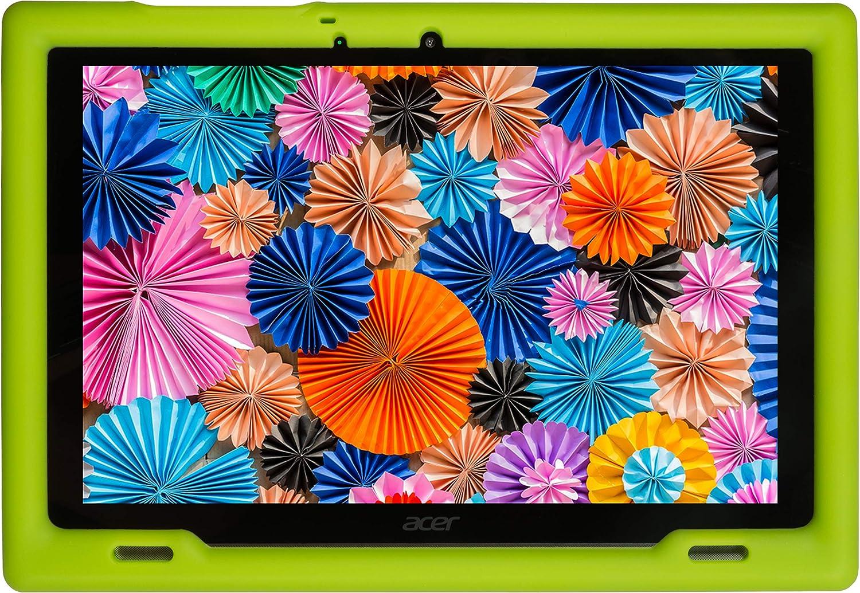 BobjGear Bobj Rugged Tablet Case for Acer Iconia B3-A50 Kid Friendly (Gotcha Green)