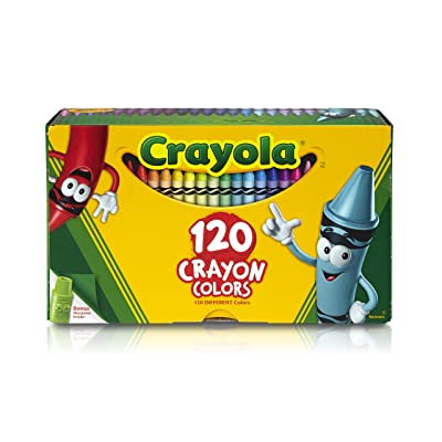 Crayola Classic Color Crayons, Tuck Box, 120 Colors (526920): Office Products