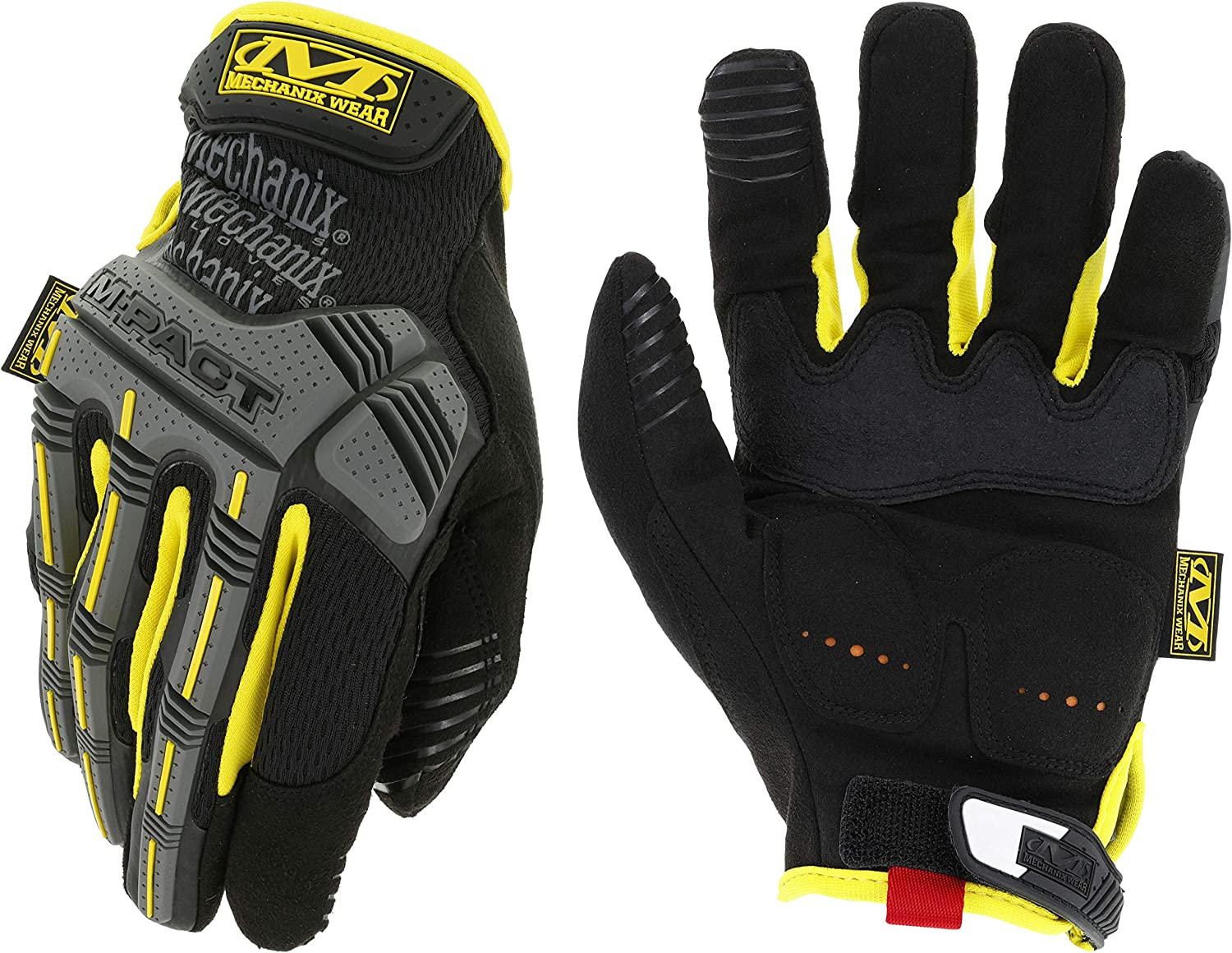 X-SMALL Mechanix Wear Covert M-PACT Gloves Touch Screen Capable TAA Black