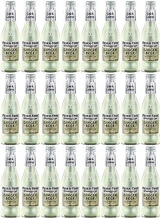 Fever - Tree, Refreshingly Light, Ginger Beer, Pack 0f 24: Amazon.es: Alimentación y bebidas