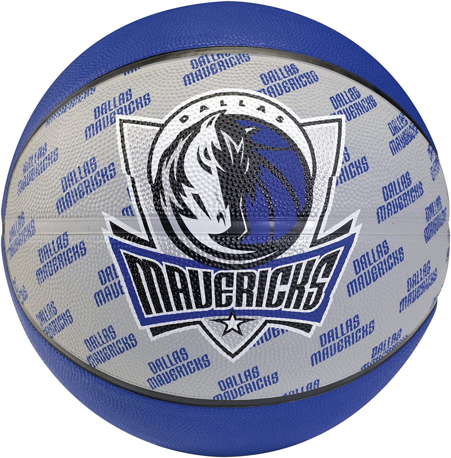 Spalding Team Ball Dallas Mavericks Blau 7 3001585011117