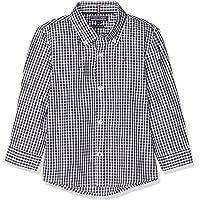 Tommy Hilfiger Boys Gingham Shirt L/S Blusa para Niños